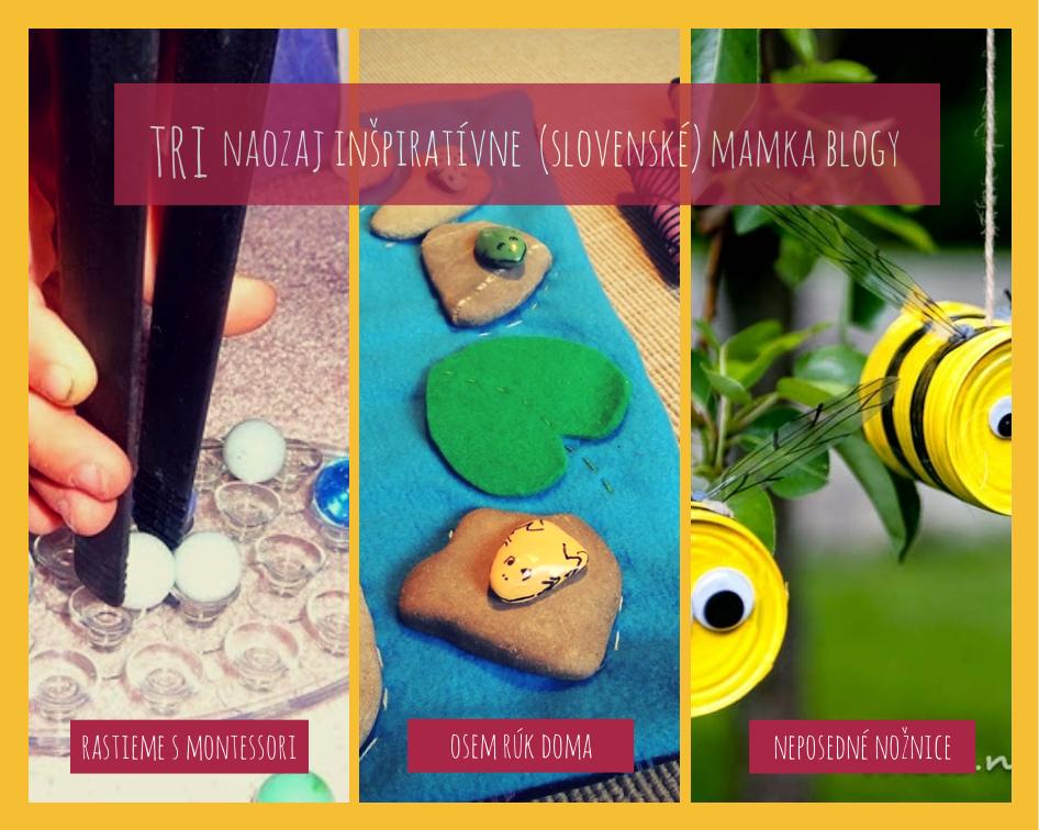 tri inšpiratívne slovenské blogy