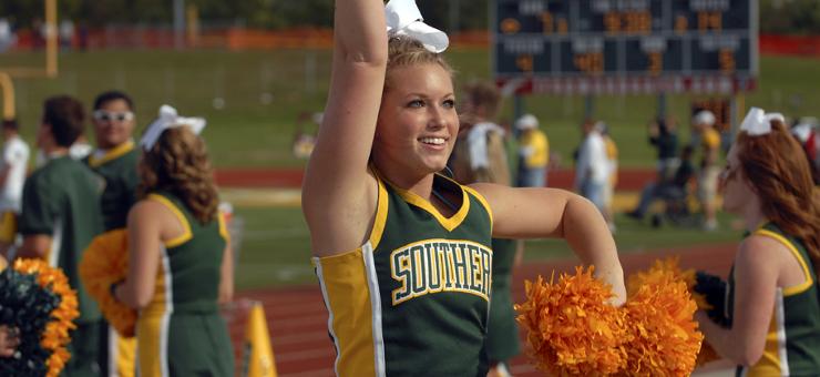 Všetci potrebujeme dobrú cheerleaderku